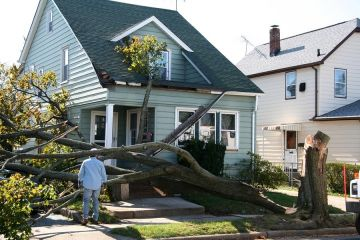 Storm damage to roof by Superior One Roofing & Construction, Inc.